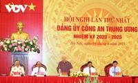 El líder político de Vietnam orienta el trabajo del Comité del Partido del Ministerio de Seguridad Pública