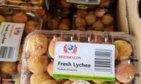Llega al mercado francés el primer envío de lichi vietnamita con el sello de trazabilidad