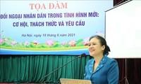 Diplomacia popular de Vietnam en la nueva situación