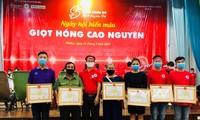 Gota Roja: programa de donación de sangre en Gia Lai