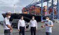 El viceprimer ministro Vu Duc Dam supervisa el control del covid-19 en Ba Ria-Vung Tau
