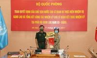 Otra oficial de Vietnam participa en la misión de mantenimiento de paz de la ONU