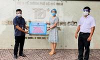 Vietnam transparenta las contribuciones financieras y materiales a la batalla anti-coronavirus