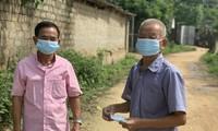 Lam Van Mau: mensajero contra la pandemia de covid-19 en Lang Son