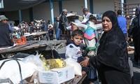Las Naciones Unidas y Qatar despliegan asistencias en efectivo a los palestinos en Gaza