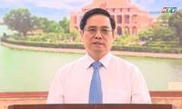 Gran unidad nacional motiva al pueblo vietnamita en la lucha contra el covid-19, afirma el premier
