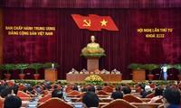 Inauguración del cuarto Pleno del Comité Central del Partido Comunista de Vietnam