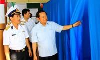 ティ国会副議長、チュオンサ県での選挙準備作業を視察