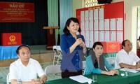 選挙準備作業を検査する活動