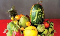 ベトナムの旧正月テトのお供え物の果物