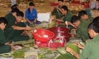 貧困者がテトを迎えるため支援活動