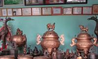 銅を鋳造するロントゥオン村