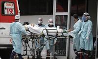 新型コロナウイルス、現在の感染者・死者数