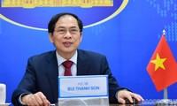 ベトナムと各国の外相による電話会談