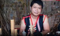 民族楽器に夢中 ジャライ族のロ・チャム・カインさん
