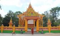 ソクチャン省 クメール族のお寺の保存