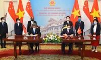 ベトナム・シンガポール外相 戦略的パートナーシップを効果的に展開