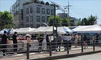 韓国の新規コロナ感染者1842人 2日連続で過去最多
