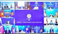 ASEAN・中国、平和・安全保障の維持を強調