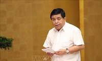 計画投資省と各地 経済回復計画を立案