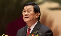 Presiden Vietnam Truong Tan Sang menerima para Dubes yang menyampaikan surat mandat