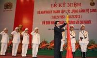 Membangun  pasukan pengawal  Vietnam setingkat dengan kawasan
