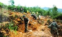 Mengatasi  akibat   bom dan ranjau   selalu  mendapat perhatian khusus dari Vietnam