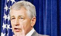 Menteri Pertahanan baru AS melakukan kunjungan di Afghanistan.