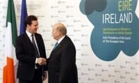 Pembukaan Konferensi   Menteri Keuangan Eurozone