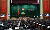 Pendapat  pemilih  kepada persidangan ke-5 MN Vietnam angkatan ke-13.