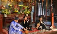 Seni  lagu rakyat Ca Tru dari cara memandang sahabat-sahabat Thailand