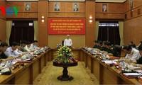 Polit Biro  KS PKV  mengadakan temu kerja dengan Badan Harian  Komite Militer Komite Sentral  Partai