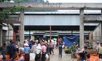 Pasar persahabatan Vietnam-Laos