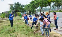 "Kota Da Nang mengadakan rapat umum  untuk menyambut  Kampanye: ""Membuat  Dunia lebih  bersih"""