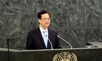 Opini umum Republik Korea  memberikan apresiasi terhadap pidato PM Vietnam Nguyen Tan Dung di depan Majelis Umum PBB angkatan ke-68.