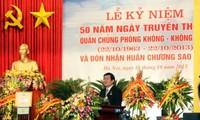 Angkatan penangkis udara dan angkatan udara Vietnam memperingati ultah ke-50  Hari Tradisinya (22 Oktober 1963-25 Oktober 2013).