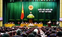 12 isi Rancangan Amandemen  UUD-1992  dibahas pada persidangan ke-6 MN Vietnam angkatan ke-13