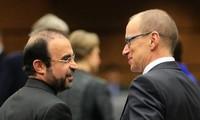 Permufakatan kerjasama antara IAEA dengan Iran pada permulaannya mencapai hasil positif