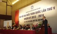 Kongres Nasional ke-5 Gabungan Asosiasi Persahabatan Vietnam.