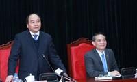 Deputi PM Nguyen Xuan Phuc: Provinsi Son La harus memperhatikan pelaksanaan kebijakan etnis.