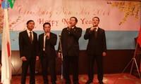 Sahabat-sahabat internasional  mengucapkan selamat Hari Raya Tet Vietnam