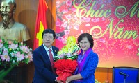 Wakil Ketua MN  Nguyen Thi Kim Ngan mengunjungi  VOV.