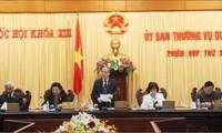 Pembukaan Sidang ke-26 Komite Tetap MN Vietnam.