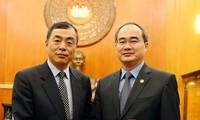 Mendorong hubungan kerjasama  di semua bidang antara Vietnam dengan Tiongkok dan Cile.