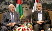 Palestina  setuju menghentikan masa 8 tahun perpecahan internal.