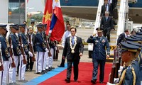 PM Vietnam, Nguyen Tan Dung  tiba di Filipina.