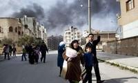Menyelesaikan proses  pengangkutan seluruh senjata kimia   ke luar dari  Suriah