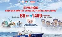 Badan-badan usaha Hanoi berpadu tenaga  demi laut dan pulau kampung halaman.