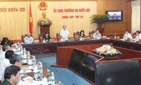 Pembukaan persidangan ke-29 MN Vietnam angkatan ke-13 .