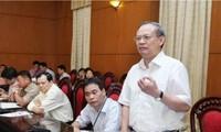 Komite Tetap MN Vietnam berbahas tentang beberapa RUU